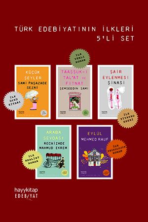 Türk Edebiyatının İlkleri 5'li Set