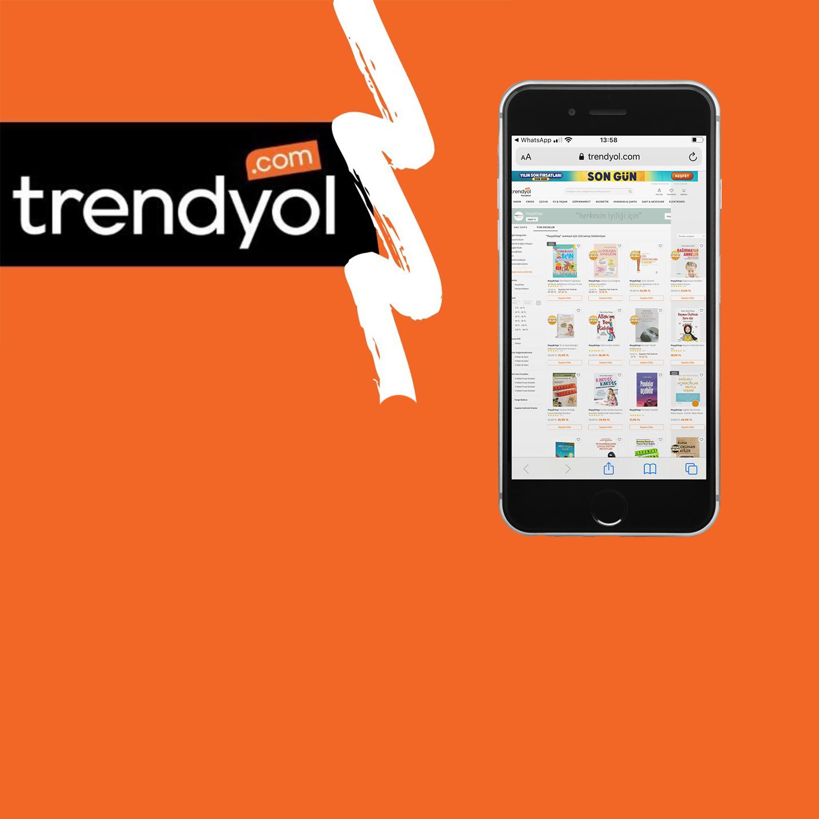 Tüm kitaplarımız ve setlerimiz en uygun fiyatlarla Trendyol'da!