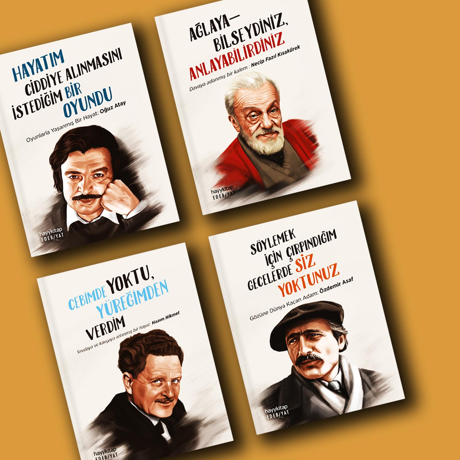 Modern Türk Edebiyatı'nın büyük kalemleri sizlerle...